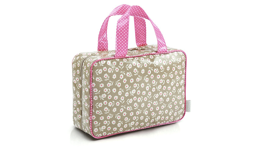 Commercial product photography beauty holdall bag in Brighton studio