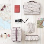 Bags Flatlay Photography