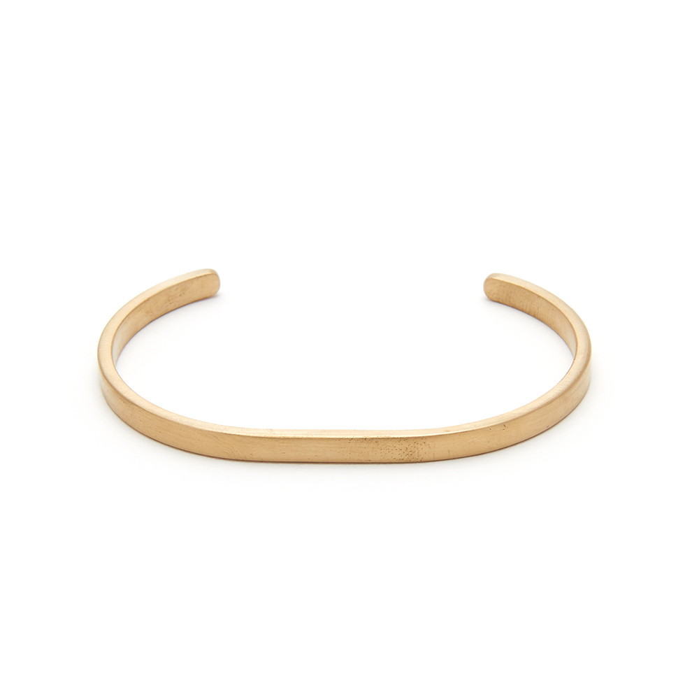 contemporary lifestyle & fashion, simple gold bracelet