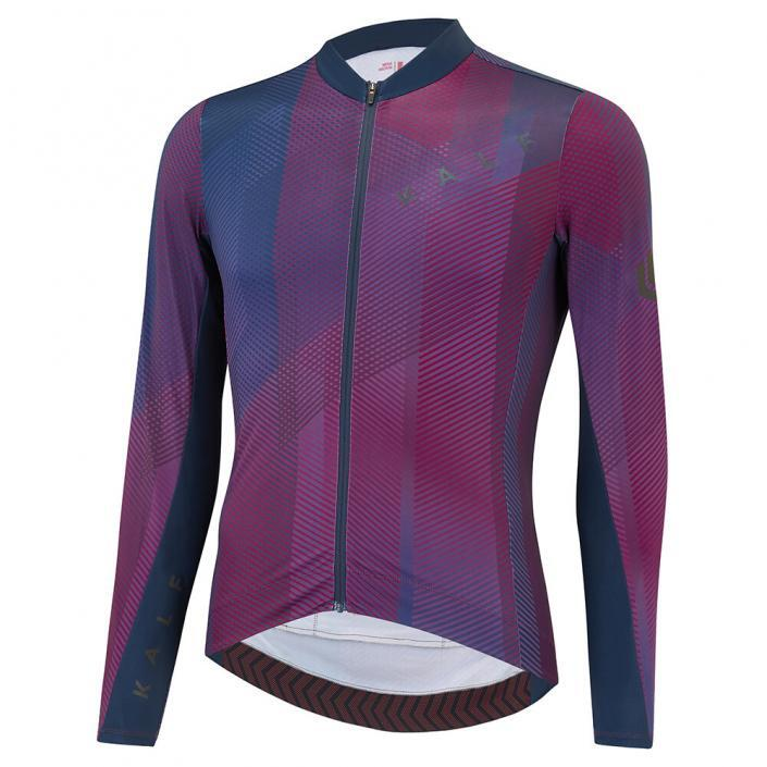 Amazon Product Photography, men's purple blue cycle wear jersey top
